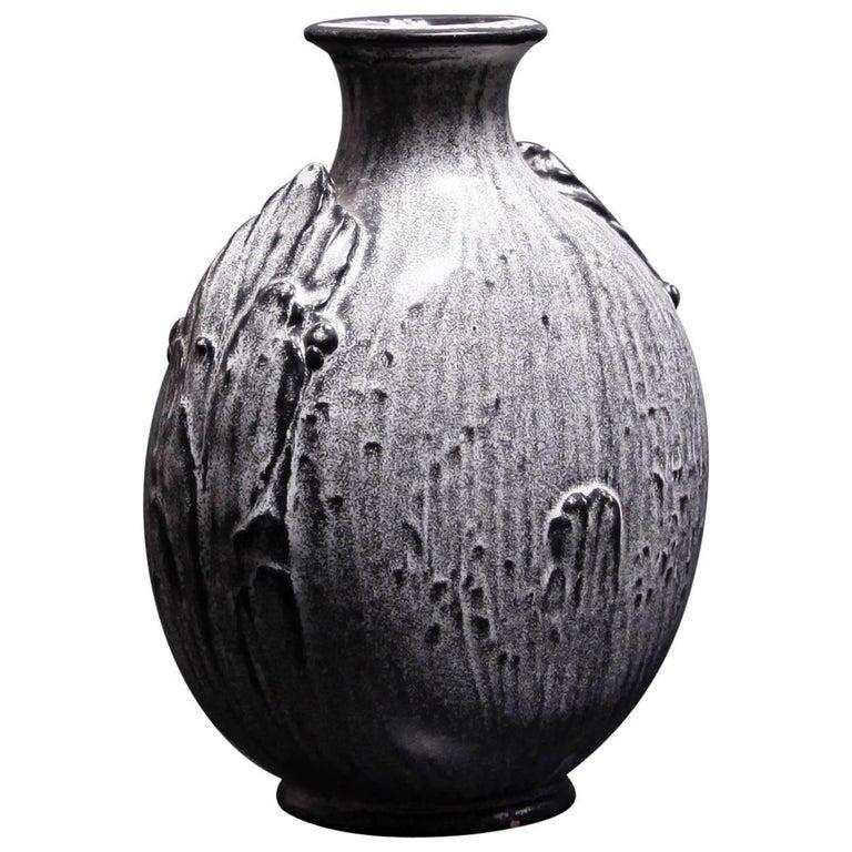 Svend Hammershoi Flask-Form Vase
