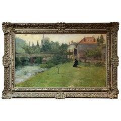 Frank Vincent DuMond Impressionist Painting