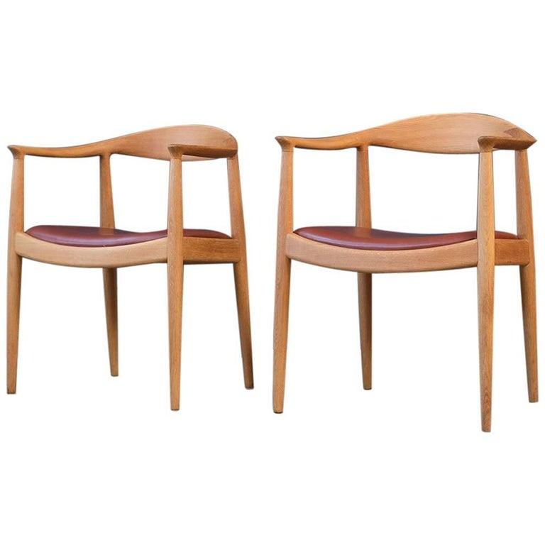 Hans Wegner Round Chairs