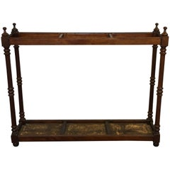 English Victorian Stick Umbrella Hall Stand