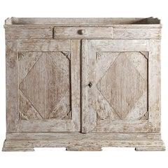 Swedish Period Gustavian Sideboard in Original Paint