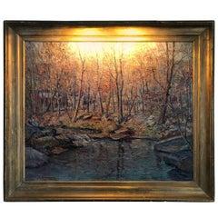 Pennsylvania Post Impressionist Landscape by John Berninger