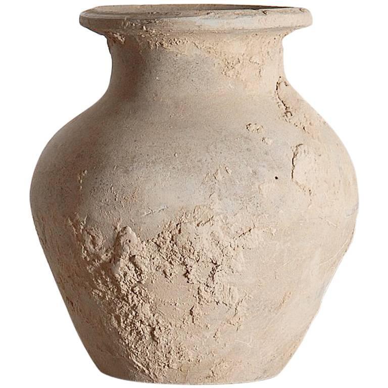 Unglazed Han Dynasty Vase