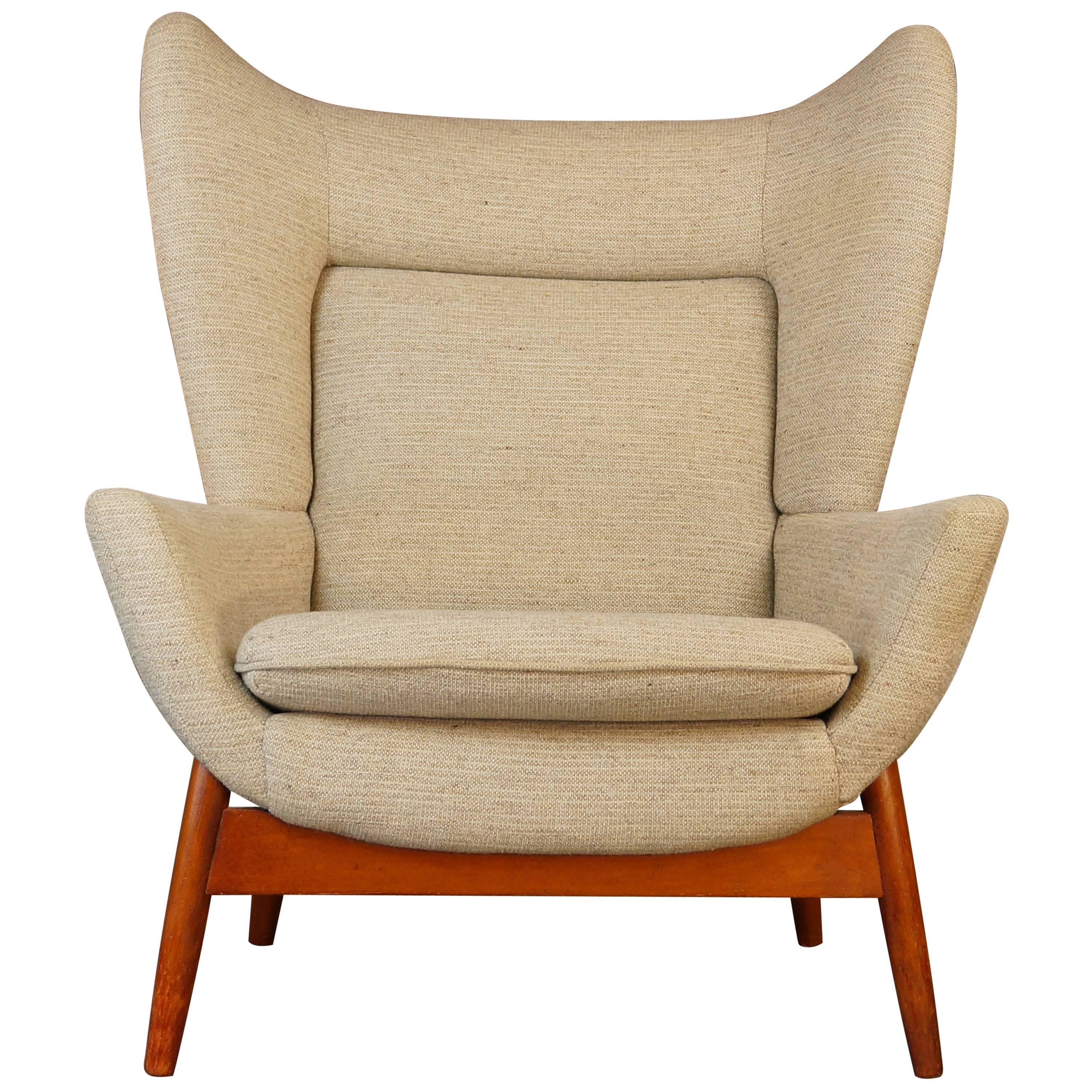 Vintage 1960s Parker Knoll Merrywood Wingback Armchair  Papa Bear  ...  sc 1 st  1stDibs & Vintage 1960s Parker Knoll Merrywood Wingback Armchair