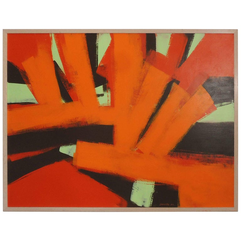 Abstract Painting by Thomas Yanosky For Sale
