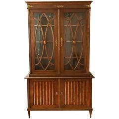Fine Sheraton Style Mahogany Bookcase