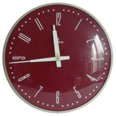 Large Siemens Halske Factory, Station or Workshop Wall Clock