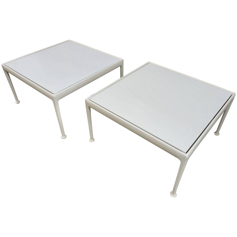 Versatile Patio Tables by Richard Schultz for Knoll For Sale