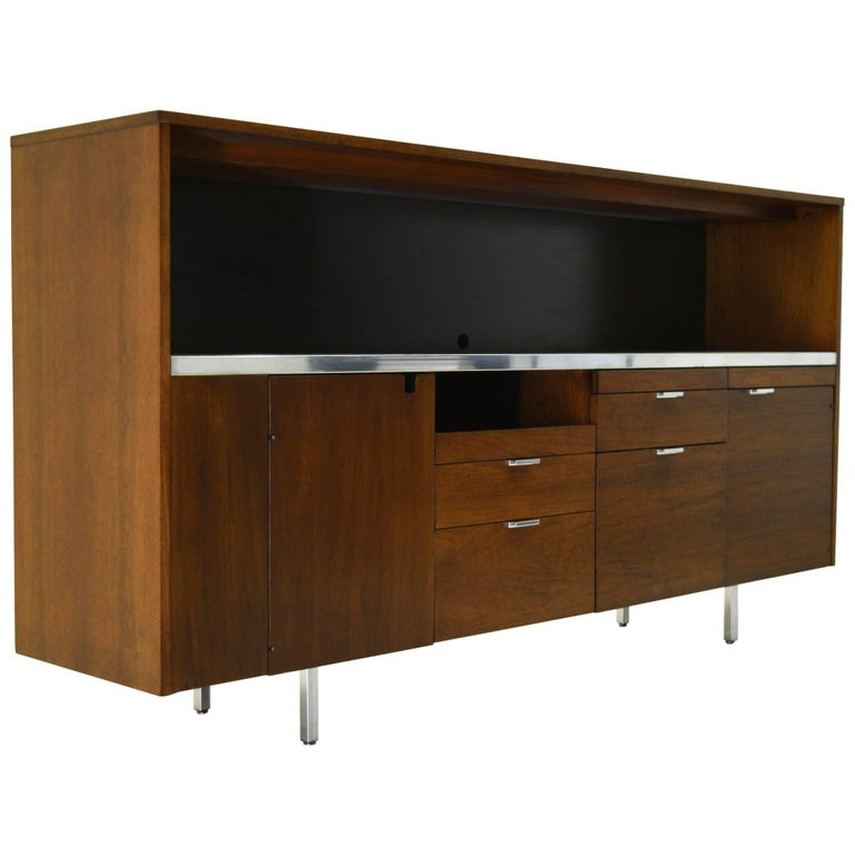 Large Credenza Cabinet by George Nelson for Herman Miller 1