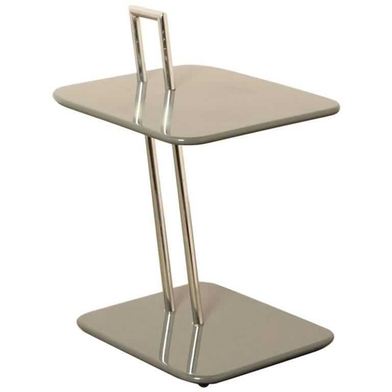 eileen gray occasional table or side table by classicon at. Black Bedroom Furniture Sets. Home Design Ideas