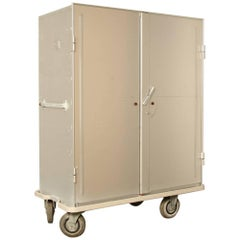 Zarges Aluminum Storage and Transport Cabinet on Wheels