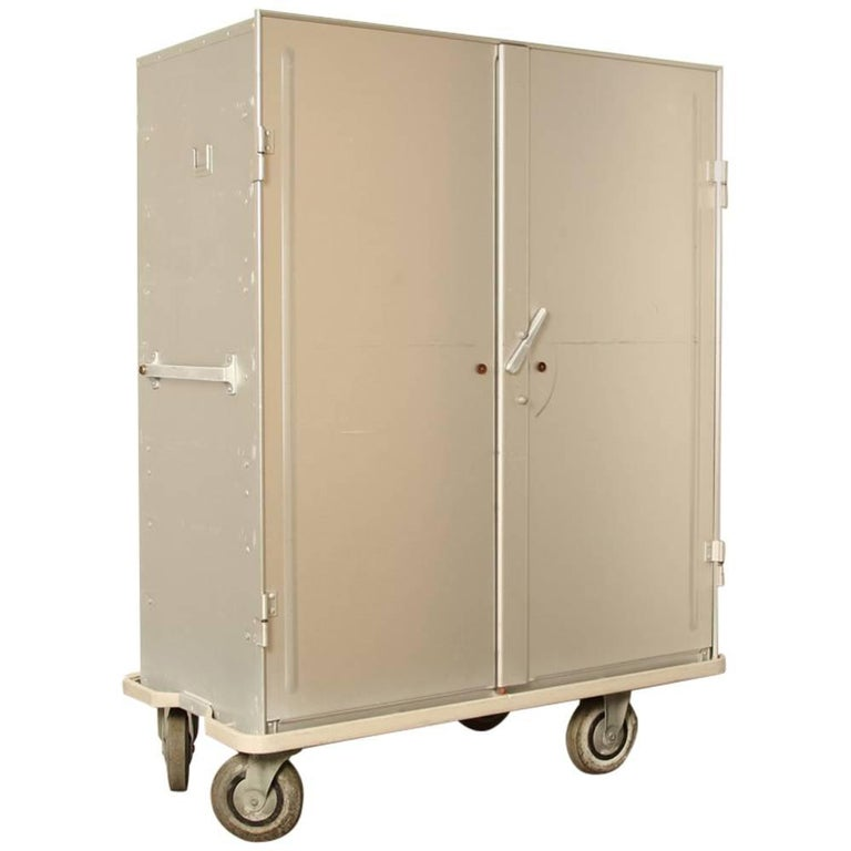 zarges aluminum storage and transport cabinet on wheels for sale at 1stdibs. Black Bedroom Furniture Sets. Home Design Ideas