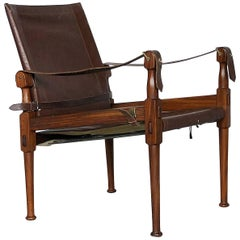 Safari Rosewood Chair by M. Hayat & Brothers, 1970s