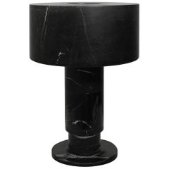 Marble Table Lamp by Gilles Caffier
