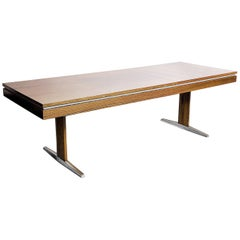 German Rosewood Modern Adjustable Table from E.M.Ü, 1960s