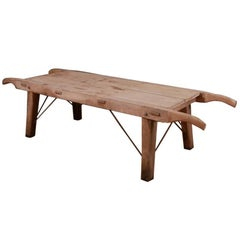 Elm and Sycamore Bench/Coffee Table