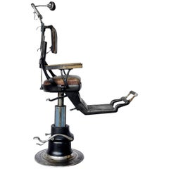American Industrial Dental Chair from Ritter, 1920s