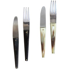 Carl Auböck Set of Two Forks and Knives #2