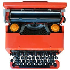 Olivetti Valentine Typewriter by Ettore Sottsass Jr. and Perry King, 1968