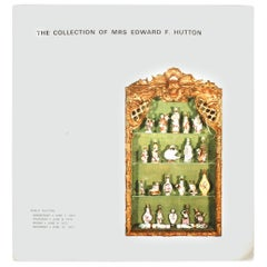 """""""The Collection of Mrs. Edward F. Hutton"""" Auction Catalogue"""