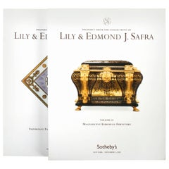 Auction Catalogues for the Collection for Lily & Edmond J. Sarfa, 2 Vols