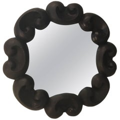 Manner of Emilio Terry Carved Wood Mirror