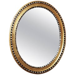 Irish George III Oval Mirror