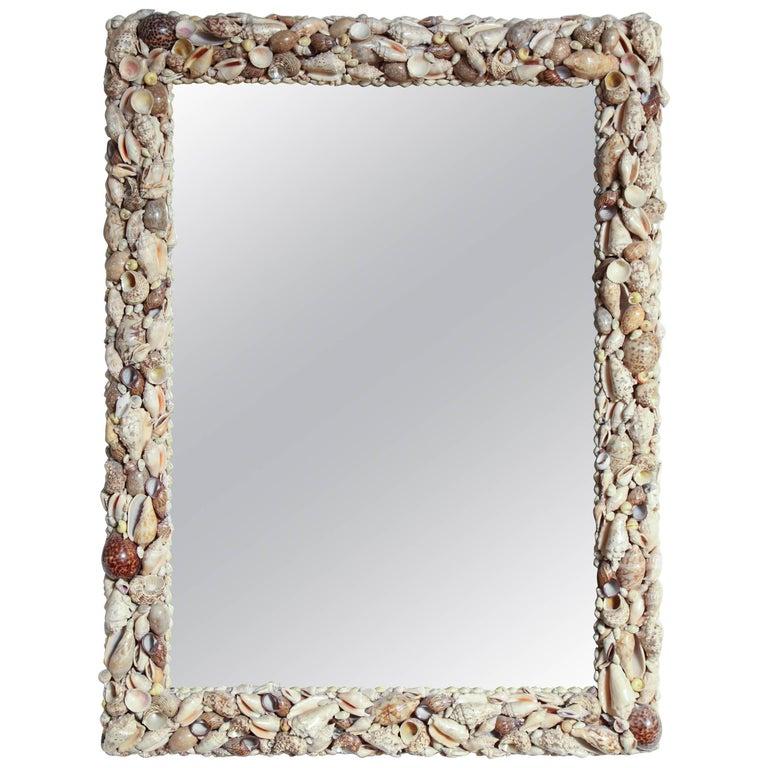 Modern Shell Wall Mirror