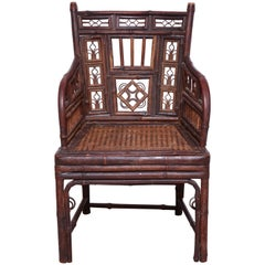 Child's Bamboo Armchair