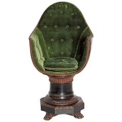19th Century Venetian Child's Gondola Chair