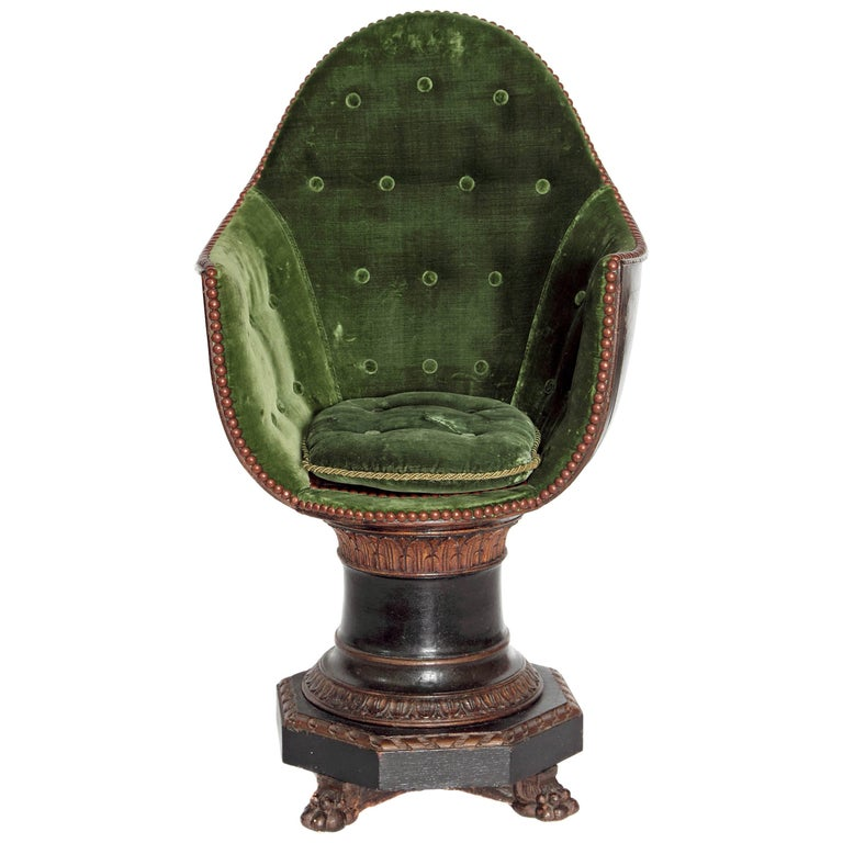19th Century Venetian Child's Gondola Chair