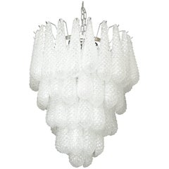 Murano Glass Honeycomb Chandelier
