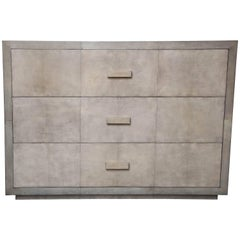 Custom Parchment Oversized Two-Tone Dresser