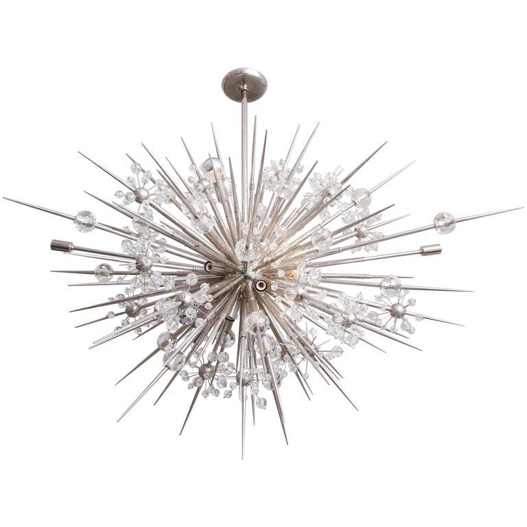Custom Austrian Crystal Spiked Sputnik
