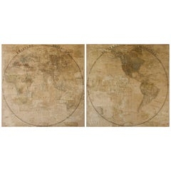 Pair of Late 18th Century Maps from Italy
