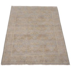 Gray William Morris Inspired Rug