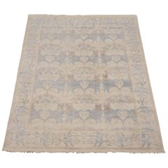 Beige William Morris Design Rug
