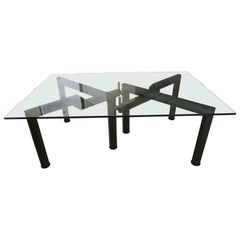 Monumental Dining Table Base by Bruno Rota