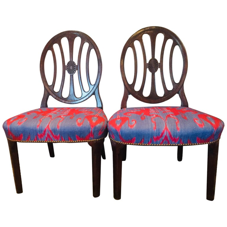 Hepplewhite Antique Side Chairs