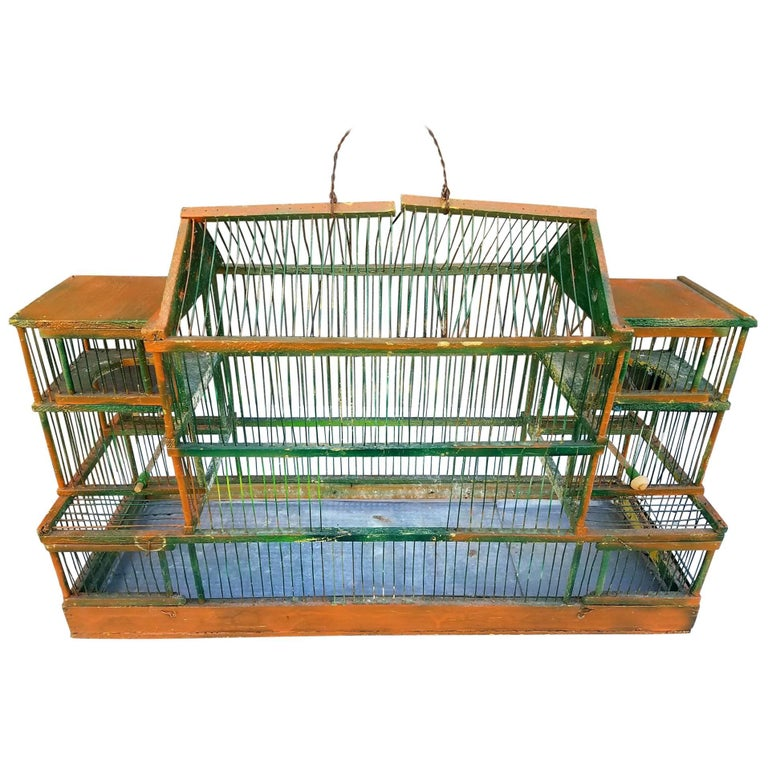 Antique Bird Cage 1