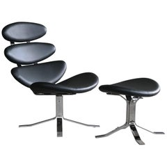 Corona chair by poul m volther for erik jorgensen for sale at 1stdibs - Corona chair replica ...