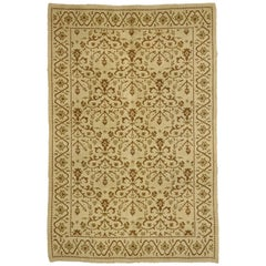 Vintage Spanish Rug with Transitional Style