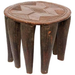 20th Century African Eight Leg Nupe Stool or Table