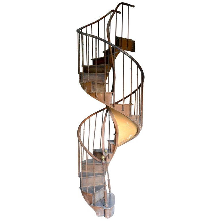 Spiral Staircase Dated from the 19th Century