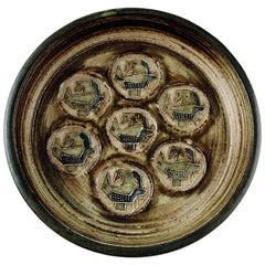Royal Copenhagen Stoneware Dish by Jorgen Mogensen