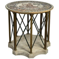 20th Century Mosaic Top Centre Table