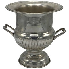 1970s Silver Plate Wine Chiller