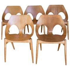 Set of Jason Chairs by Carl Jacobs for Kandya