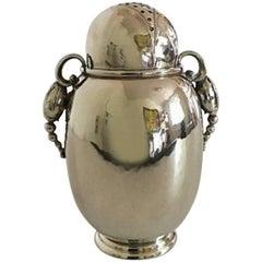 Georg Jensen Sterling Silver Blossom Sugar Castor/Shaker #2A