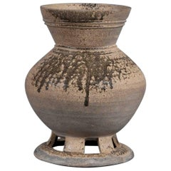 Earthenware Stand Korea 5th Century Silla Kingdom Century Vase Urn